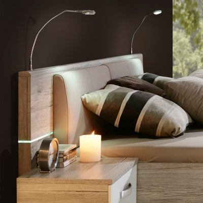 Oświetlenie łóżka Izled18p02 Wk02 Domar Salon Meblowy